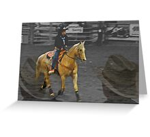 Rodeo Royalty III Greeting Card