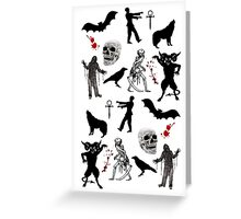 Horror Greeting Card