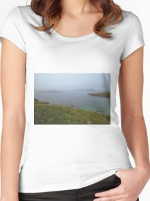 Looking Beyond The Sorrow Women's Fitted Scoop T-Shirt