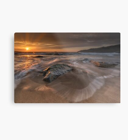 Sunset - Donegal Metal Print