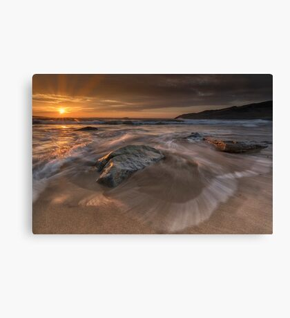 Sunset - Donegal Canvas Print