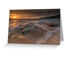 Sunset - Donegal Greeting Card