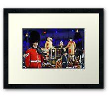 Soldier & Royal coach Framed Print