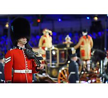Soldier & Royal coach Photographic Print