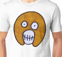 Boosh Skull - Brown  Unisex T-Shirt