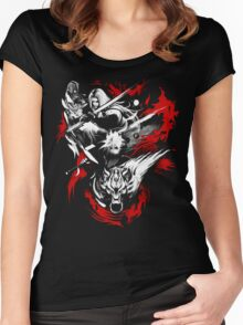 Amano Chaos Fantasy Women's Fitted Scoop T-Shirt