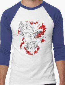 Amano Chaos Fantasy Men's Baseball ¾ T-Shirt