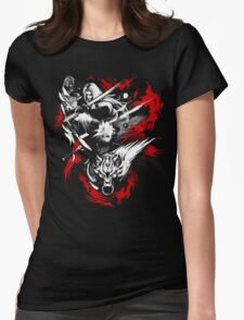 Amano Chaos Fantasy Womens Fitted T-Shirt