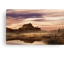 Black Sage Dawn Canvas Print