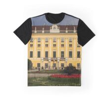 West Side Of Schönbrunn Palace, Vienna Austria Graphic T-Shirt