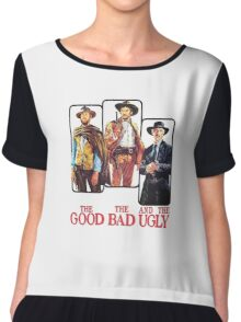 The Good, the Bad and the Ugly Chiffon Top