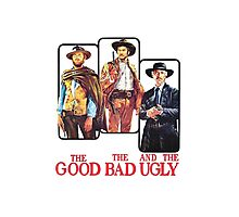 The Good, the Bad and the Ugly Photographic Print