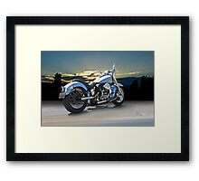 1964 Harley-Davidson FLHP Duo-Glide Framed Print