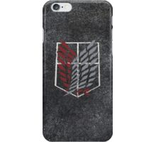 Attack On Titan Scout Emblem Bleed iPhone Case/Skin