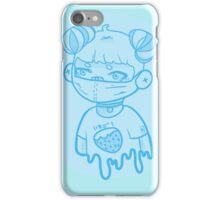 Ichigo Girl | Kawaii | Blue ver. iPhone Case/Skin