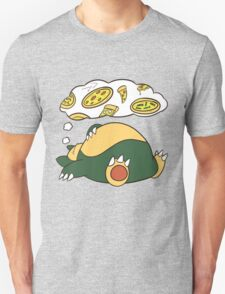 Dreamin Snorlax Unisex T-Shirt