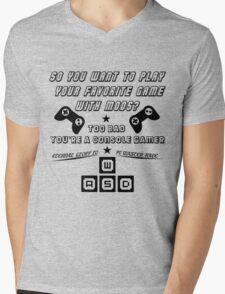 Mod Master Race Mens V-Neck T-Shirt