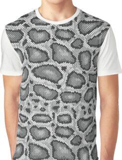 Python Texture Graphic T-Shirt