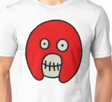 Boosh Skull - Red Unisex T-Shirt