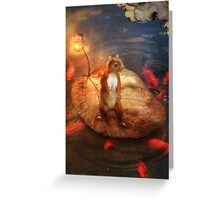 Columbus the Squirrel Greeting Card