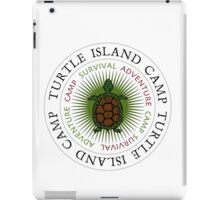 Turtle Island Camp iPad Case/Skin