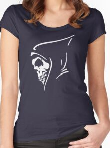 Death Skull Women's Fitted Scoop T-Shirt