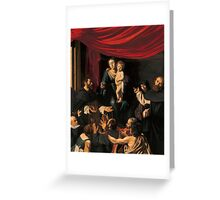 Madonna of the Rosary Greeting Card