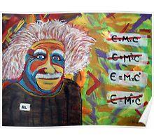 Albert Einstein T-Shirts Poster