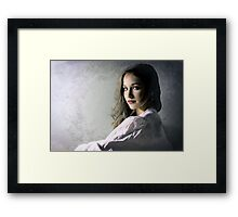 When Thoughts of Home Come Framed Print