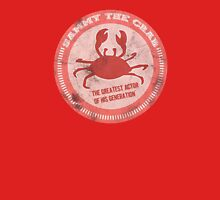 Sammy the crab Womens Fitted T-Shirt