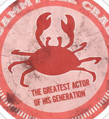 Sammy the crab Sticker