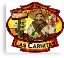 Las Carnitas Canvas Print