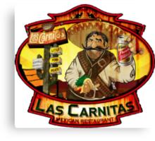 Las Carnitas Canvas Print