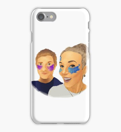 Martin and Amanda iPhone Case/Skin