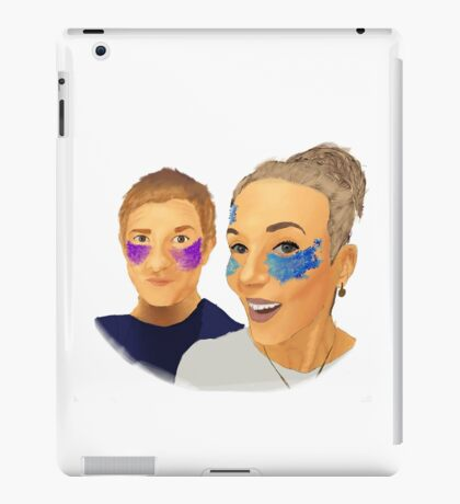 Martin and Amanda iPad Case/Skin