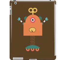 Cute Retro Robot Toy iPad Case/Skin