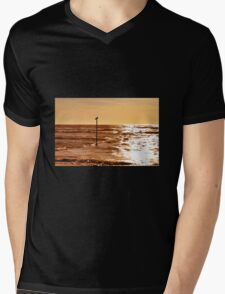Sky and sea Mens V-Neck T-Shirt