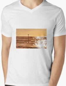 Sky and sea Mens V-Neck T-Shirt