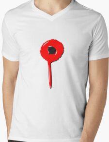 Blob drip blood bullet Mens V-Neck T-Shirt