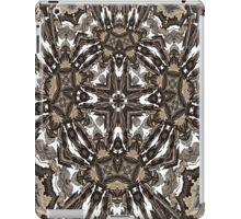 retro kaleidoscope mandala iPad Case/Skin