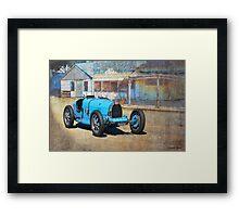 Bugatti T35A Framed Print