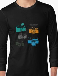 Vintage Cameras - The 35mm Rangefinder Long Sleeve T-Shirt
