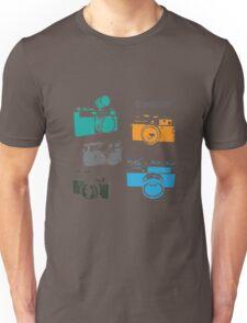 Vintage Cameras - The 35mm Rangefinder Unisex T-Shirt