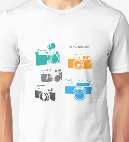 Vintage Cameras - The 35mm Rangefinder Unisex T-Shirt