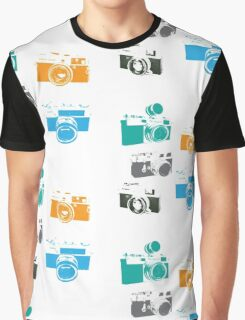 Vintage Cameras - The 35mm Rangefinder Graphic T-Shirt