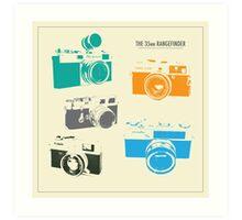 Vintage Cameras - The 35mm Rangefinder Art Print