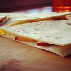Apple & Cheese Quesadilla by jedesigns