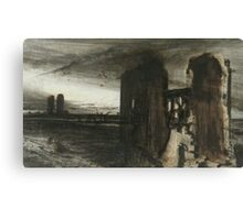 Ruins in a Landscape Canvas Print