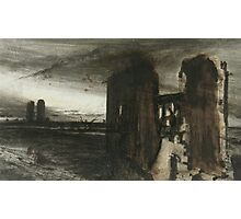 Ruins in a Landscape Photographic Print