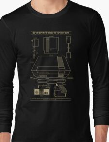 Entertainment System Long Sleeve T-Shirt